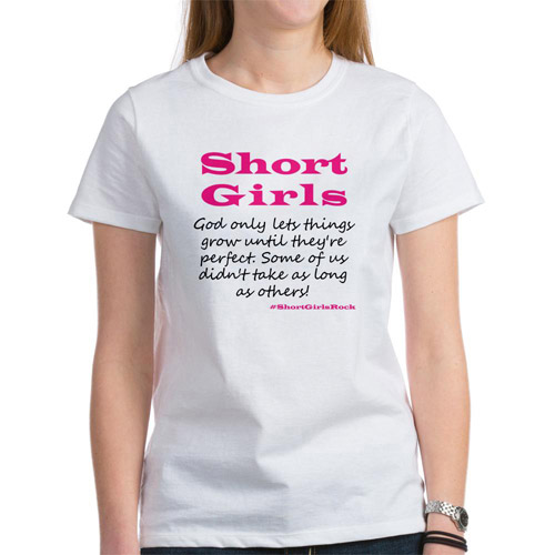 Women's Short Girls Humor Graphic Tee