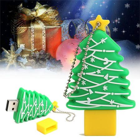 64MB~32GB USB 2.0 Flash Drive Memory Stick Christmas Tree Gift Pen Thumb Storage,512M color (Christmas Flash Drive)
