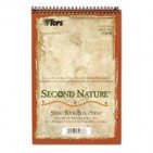 2PK TOPS Second Nature Spiral Reporter/Steno Book, Gregg, 6 x 9, White, 80 Sheets