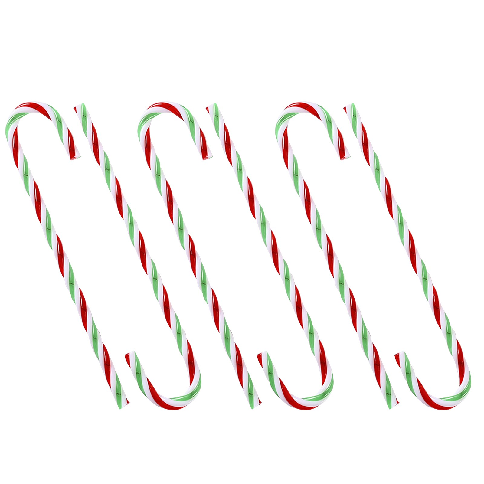 Car Truck Christmas Decorations Candy Canes 3 Piece Set by Merry Moments NEW