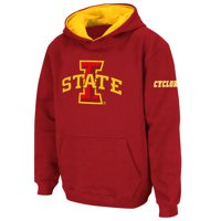Iowa State Cyclones Stadium Athletic Youth Big Logo Pullover Hoodie - Cardinal