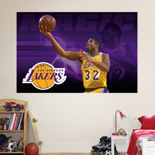 Fathead NBA Player Legends Mural Wall Decal