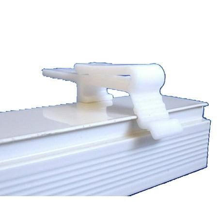 5 Qty Vertical Blind Dust Cover Valance Clip Holder Bracket