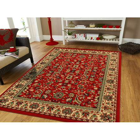 Area Rugs 5x7 Traditional On Clearance Rug For Living Room 5x8