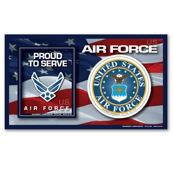 Proud To Serve Air Force Magnet Picture Frame Walmart Com Walmart Com