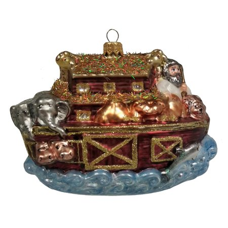 noahs ark animals polish glass christmas ornament religious holiday decoration - Is Christmas A Religious Holiday