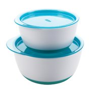 OXO Tot OXO Tot Small & Large Bowls Set - Aqua 6103800