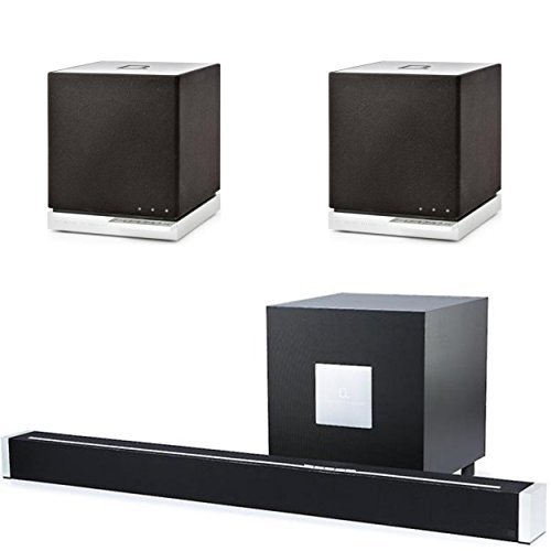 Definitive Technology (1) W Studio Sound Bar with Wireless Subwoofer & (2) W7's with Wireless Streaming Bundle!
