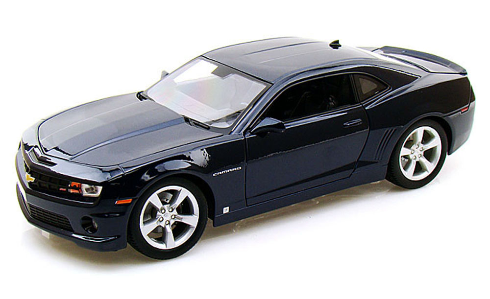 Chevy Camaro SS RS, Blue Maisto 31173 1 18 Scale Diecast Model Toy Car by Maisto