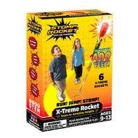 Stomp Rocket X-Treme, 6 Rockets