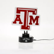 Texas A&M Aggies Team Logo Neon Light
