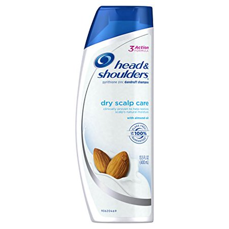 Head and Shoulders Dry Scalp Care with Almond Oil Anti-Dandruff Shampoo 13.5 Fl
