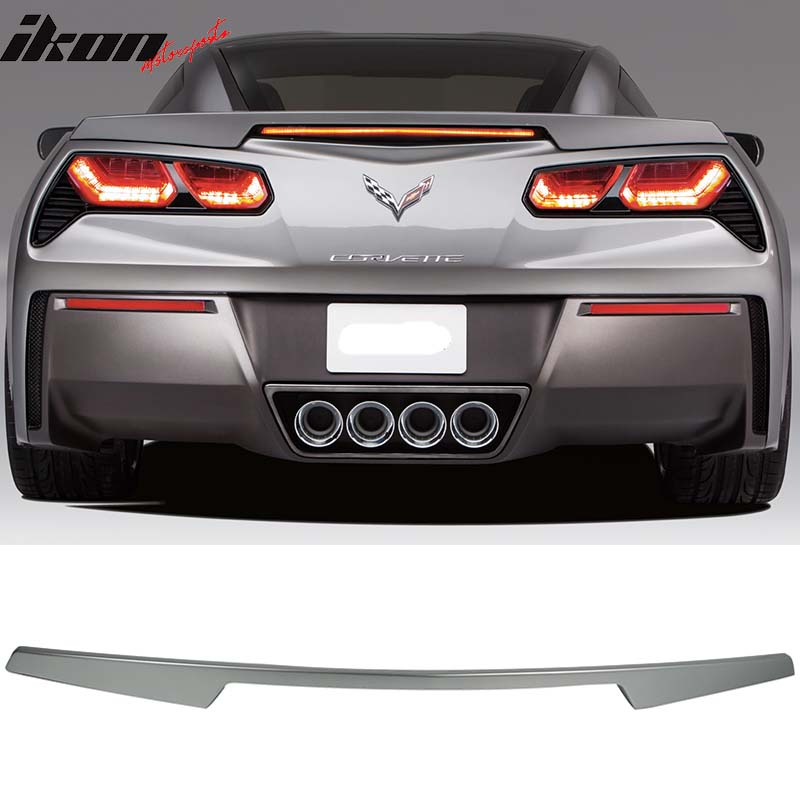 Fits 14-17 Chevrolet Corvette C7 Trunk Spoiler - ABS