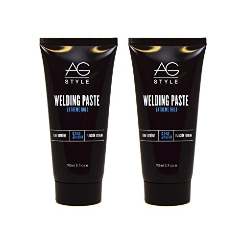 "AG Hair Welding Paste Extreme Hold 3oz ""Pack of 2"""