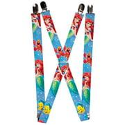 Walt Disney Movies TV Shows Under the Sea Suspenders