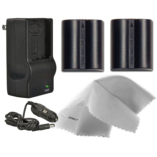 Panasonic Lumix DMC-FZ28K High Capacity Batteries (2 Unit...