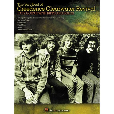 Hal Leonard The Very Best of Creedence Clearwater Revival - Easy Guitar with Tab Riffs and
