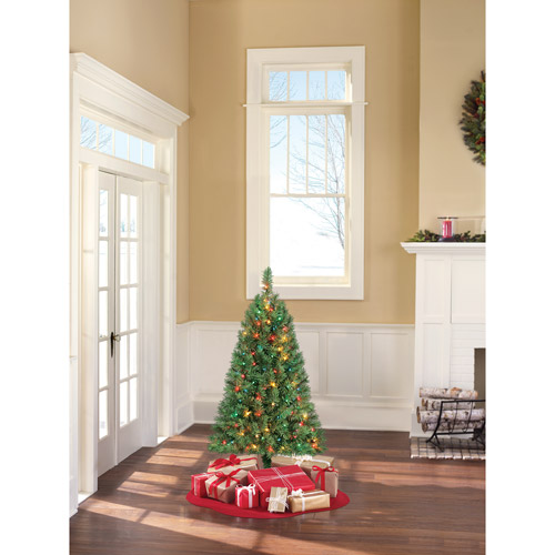 Holiday Time 4ft Grn Indiana Spruce Artificial Tree-m