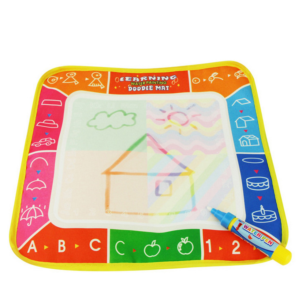 Mosunx New Water Drawing Painting Writing Mat Board Magic Pen Doodle Gift 29*29cm
