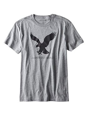 87320e5d Product Image New American Eagle Mens 3861 AE Big Eagle Graphic Tee T-Shirt  Shirt Heather Grey