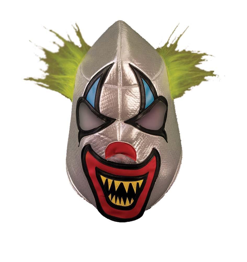 Adult Costume Wrestling Mask - Clown - image 1 de 1