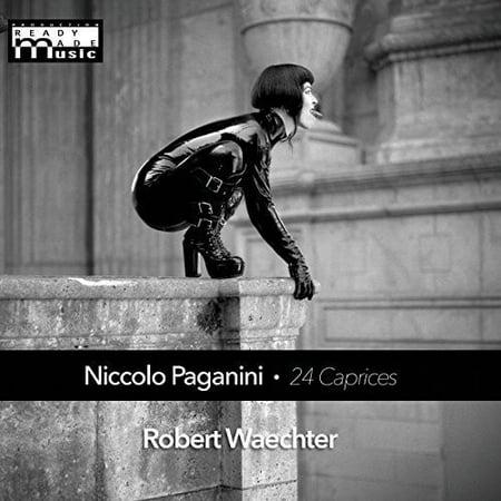 Niccolo Paganini 24 Caprices for Solo Violin (CD)