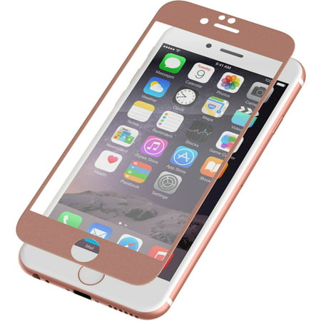 more photos 0c183 8ea0c ZAGG InvisibleShield Glass Luxe Screen Protector for Apple iPhone 6/6S -  Rose Gold