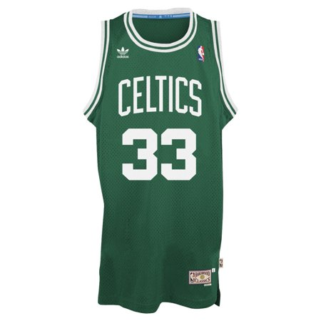 Larry Bird Boston Celtics Adidas NBA Throwback Swingman Jersey Green by