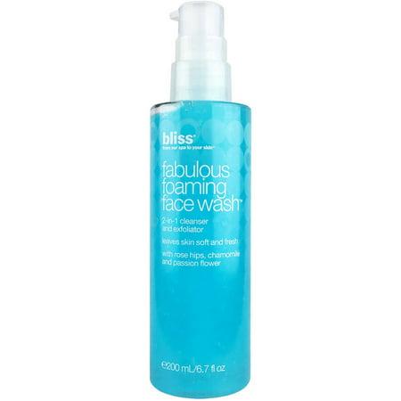Image of Bliss Fabulous Foaming Face Wash, 6.7 Fl Oz