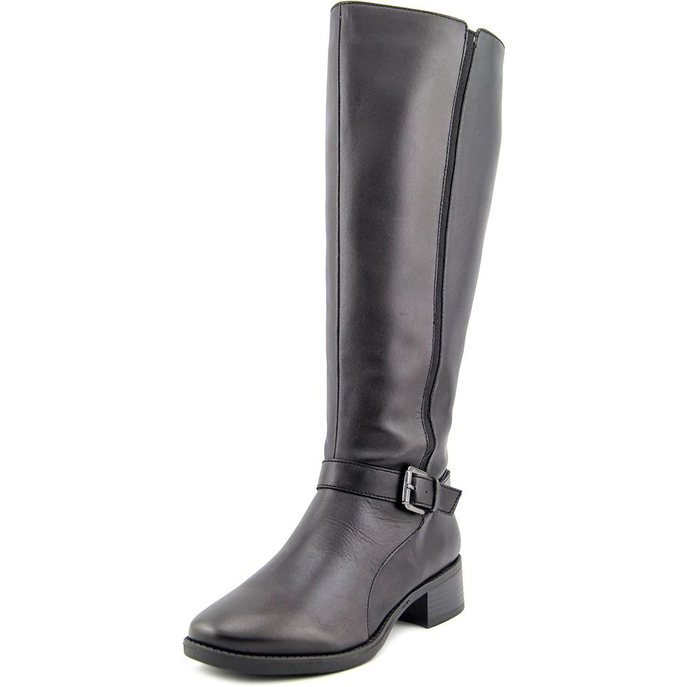 Easy Spirit Women's Nadette Wide Calf Knee High Riding Boot
