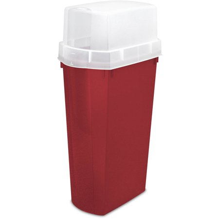Sterilite 30 vertical gift wrap container really red for Vertical gift wrap storage