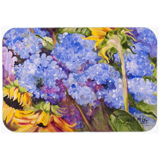 Hydrangeas And Sunflowers Mouse Pad, Hot Pad & Trivet - image 1 de 1