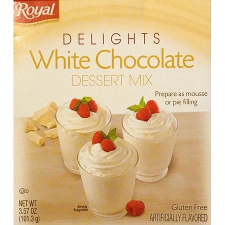 Royal Delights Dessert Mix! Choose From Pumpkin Spice, Chocolate French Silk, Or White Chocolate! Prepare As Mousse Or Pie Filling! Delicious! Easy To Make! 1 Pack! (White Chocolate)](Pumpkin Spice Halloween Cookies)