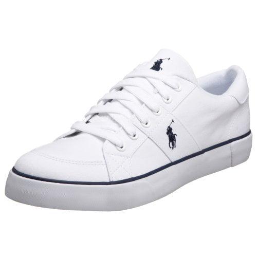 ralph lauren white sneakers womens