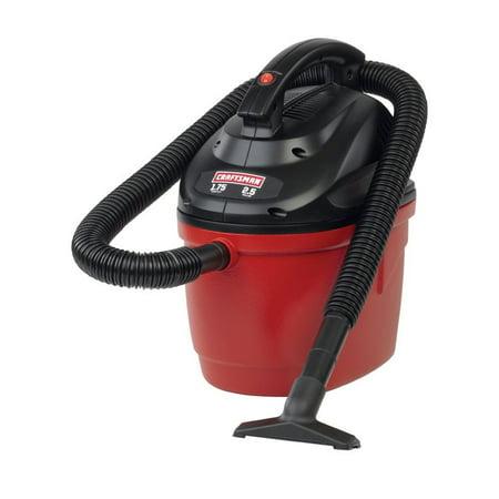 Craftsman Wet/Dry Vacuum 1.75 Peak Hp 2.5 Gal 1-1/4