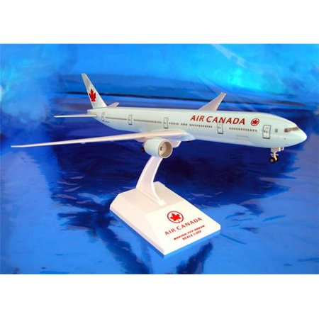 Daron Skymarks Air Canada 777-300ER Airplane Model Building Kit with Gear, 1/200-Scale