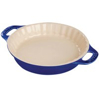 "Staub Ceramic 9"" Pie Dish - Dark Blue"