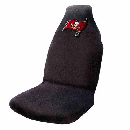 NFL Tampa Bay Buccaneers Applique Seat Cover (Tampa Bay Buccaneers Replica Super Bowl Ring)