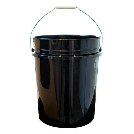 Argee 5 Gallon Black Bucket, 10-Pack (Air Grease Pump For 5 Gallon Bucket)