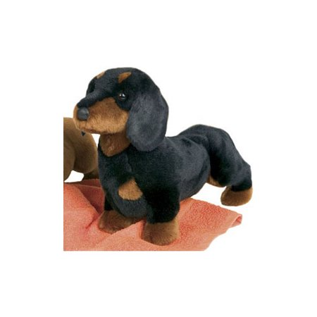 Black and Tan Dachshund-Spats By Douglas - DG2002