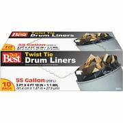Presto Products 10ct 55 Gallon Drum Linr Bag 628538