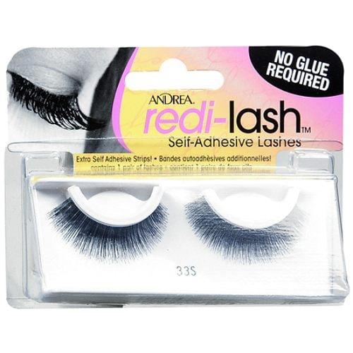 Andrea Redi-lash Self Adhesive Eyelashes, Style 33S, Black