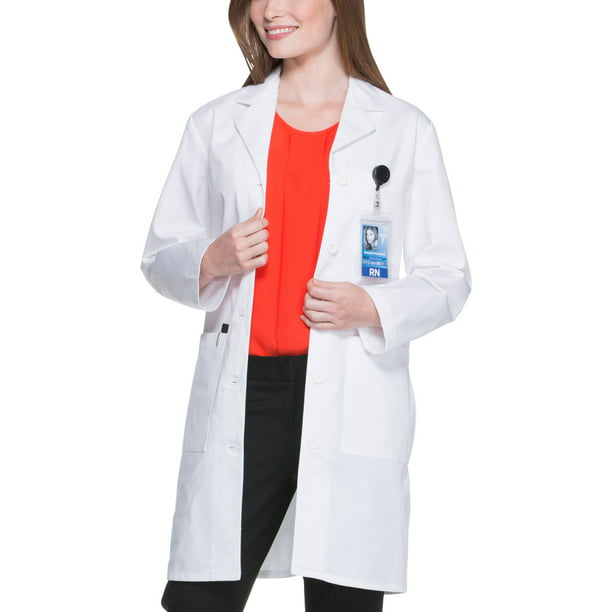 "Scrubstar Women's Core Essentials 37"" Long Lab Coat"