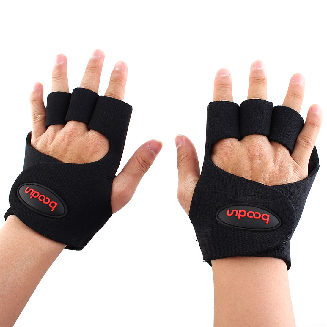 Boodun Authorized Cycling Exercise Training Gloves Size L Pair