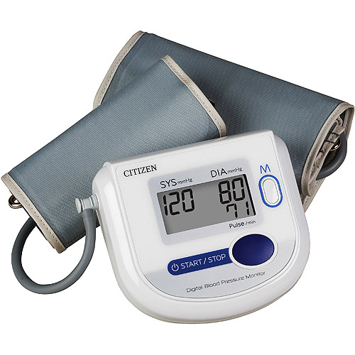 Citizen Automatic Blood Pressure Monitor with Standard and XL Cuffs