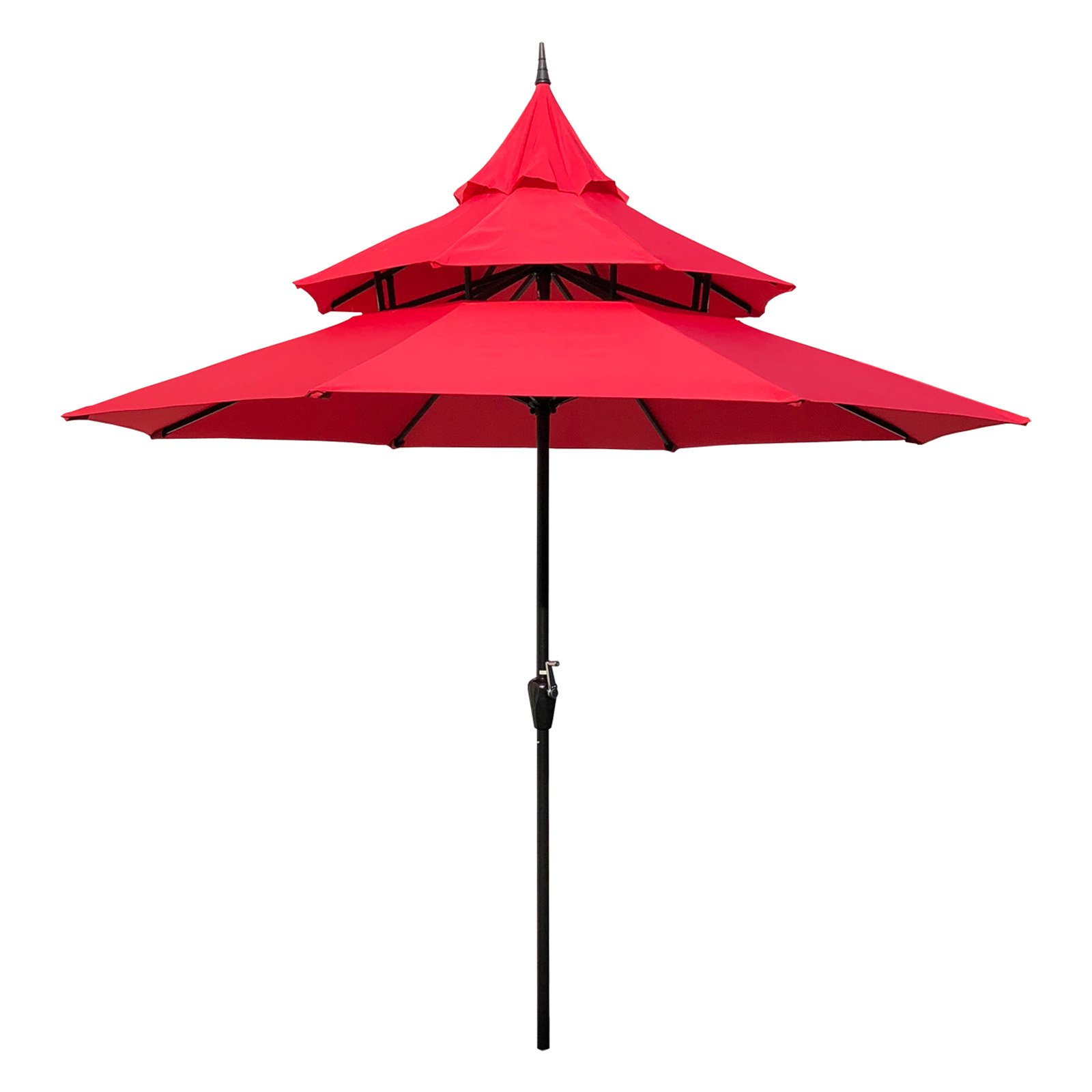 Ordinaire Steel Pagoda Patio Umbrella