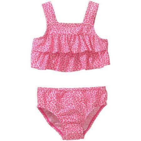 9c18890823533 Child of Mine by Carter's - Baby Toddler Girls' 2 Piece Swimsuit - Walmart .com