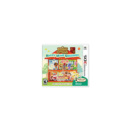 Animal Crossing: Happy Home Designer, Nintendo, Nintendo 3DS, 045496743284 for $<!---->