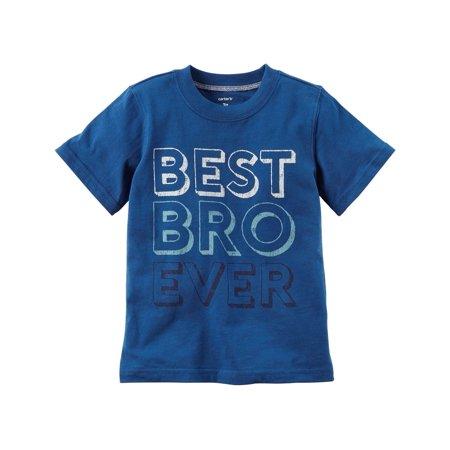 carter's little boys' best bro ever graphic tee,