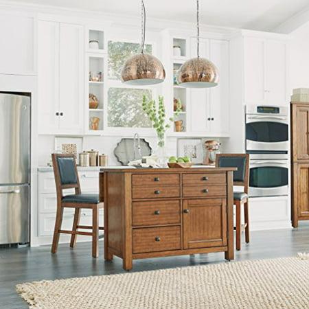 Sensational Tahoe Kitchen Island And 2 Stools Walmart Com Andrewgaddart Wooden Chair Designs For Living Room Andrewgaddartcom